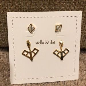 Stella & Dot Mondrian Ear Jacket